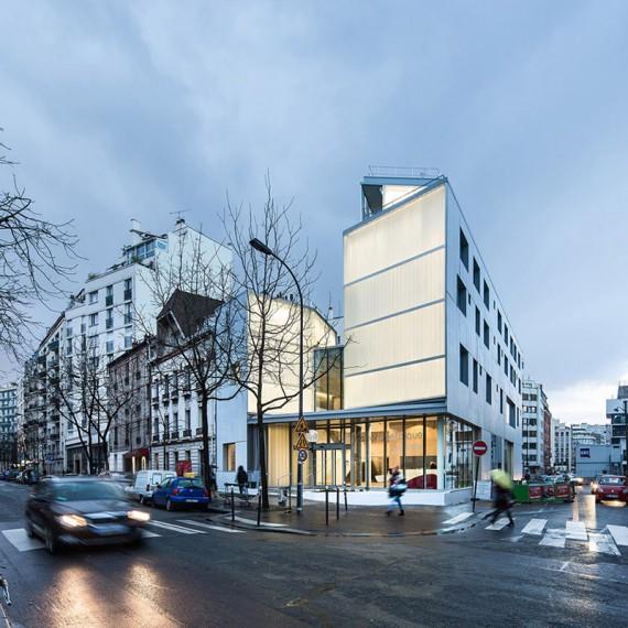 72, rue Félix Faure 75015 Paris, MAB architectes et LAPS Archit