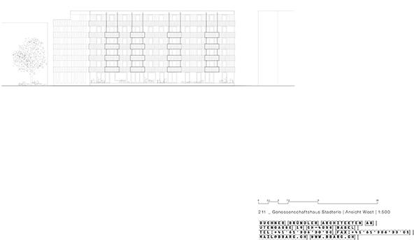 Neubau Mehrfamilienhaus StadtErle Basel