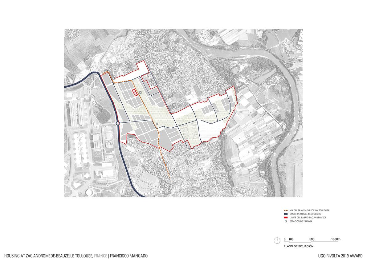 Premio Europeo Di Architettura Baffa Rivolta 15 Housing At Zac Andromede Beauzelle Toulouse Francisco Mangado